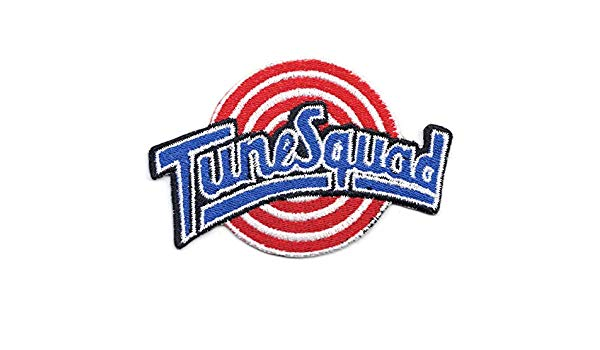 Tune Squad Basketball Team Logo Embroidered Iron On Patch.