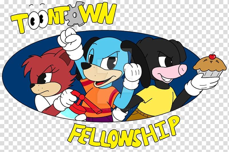 Toontown Online Art Logo, teamwork transparent background.