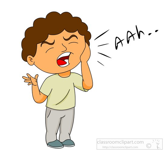 Tooth Pain Clipart.