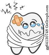 Toothache Clip Art.