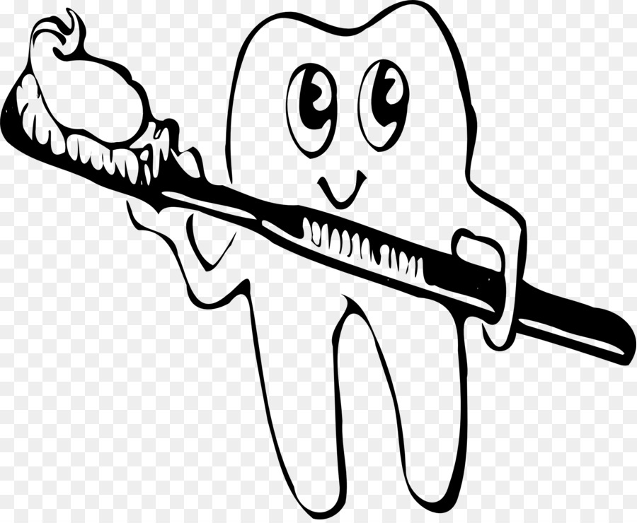 Tooth brushing Toothbrush Clip art.