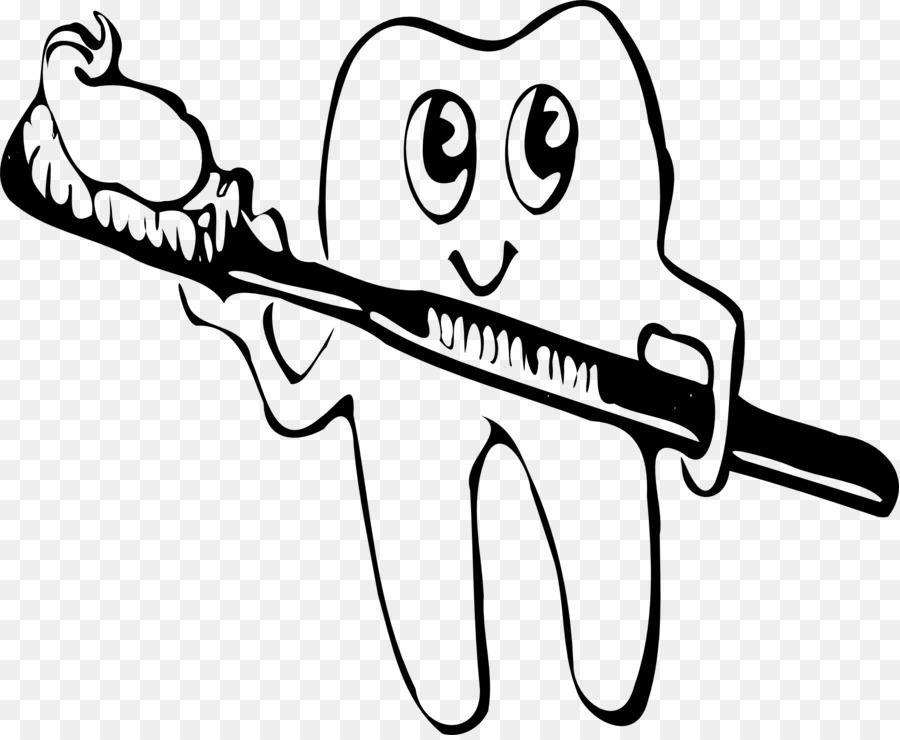 Tooth brushing Toothbrush Clip art.