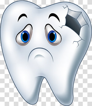 Tooth Decay transparent background PNG cliparts free.