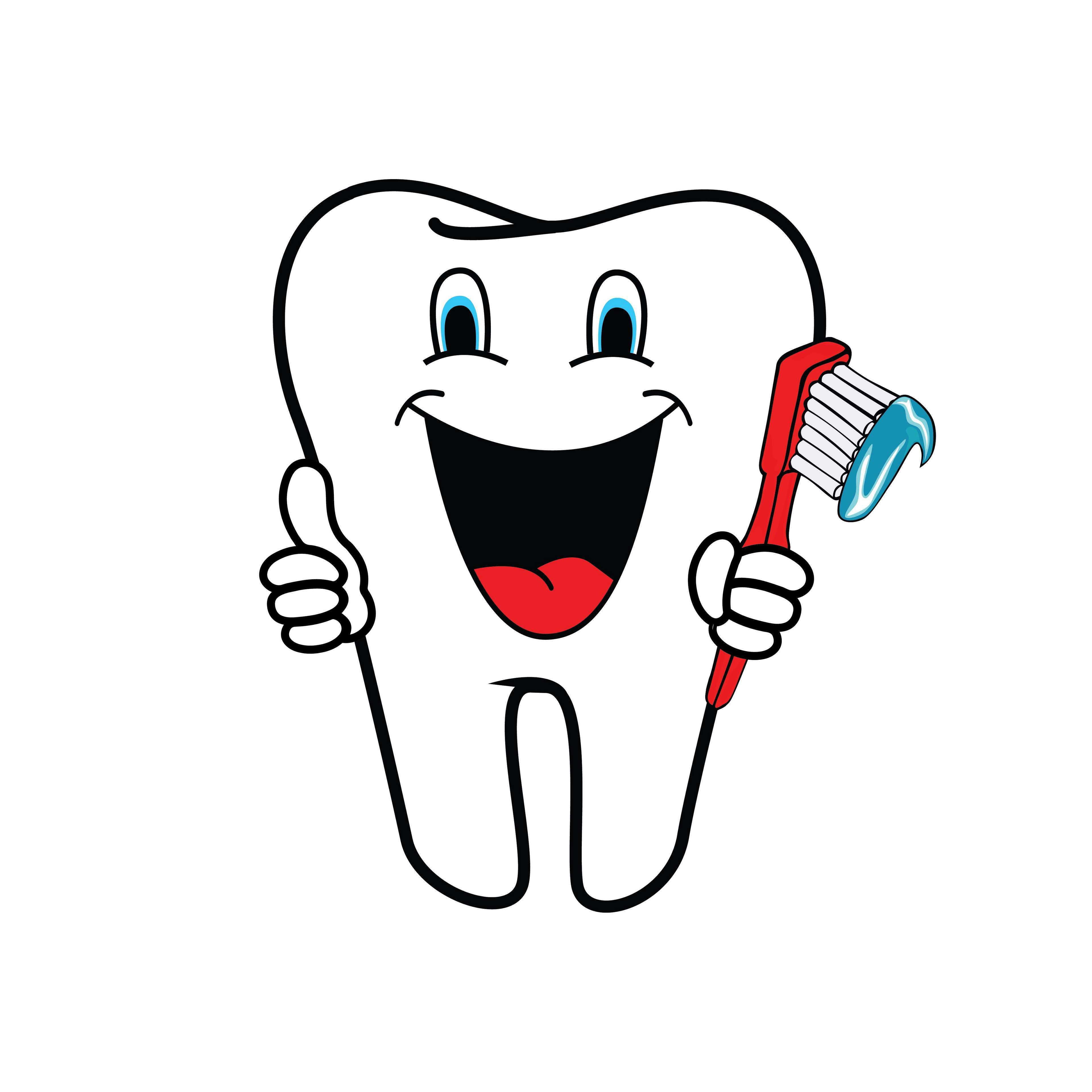 clipart tooth, dental health, dentist, dentistry, healthy.