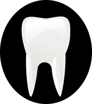 Molar Tooth Clipart.