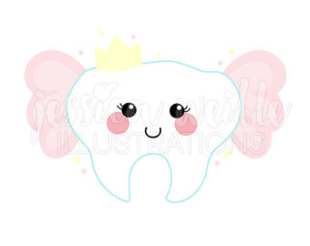 Tooth fairy clipart.