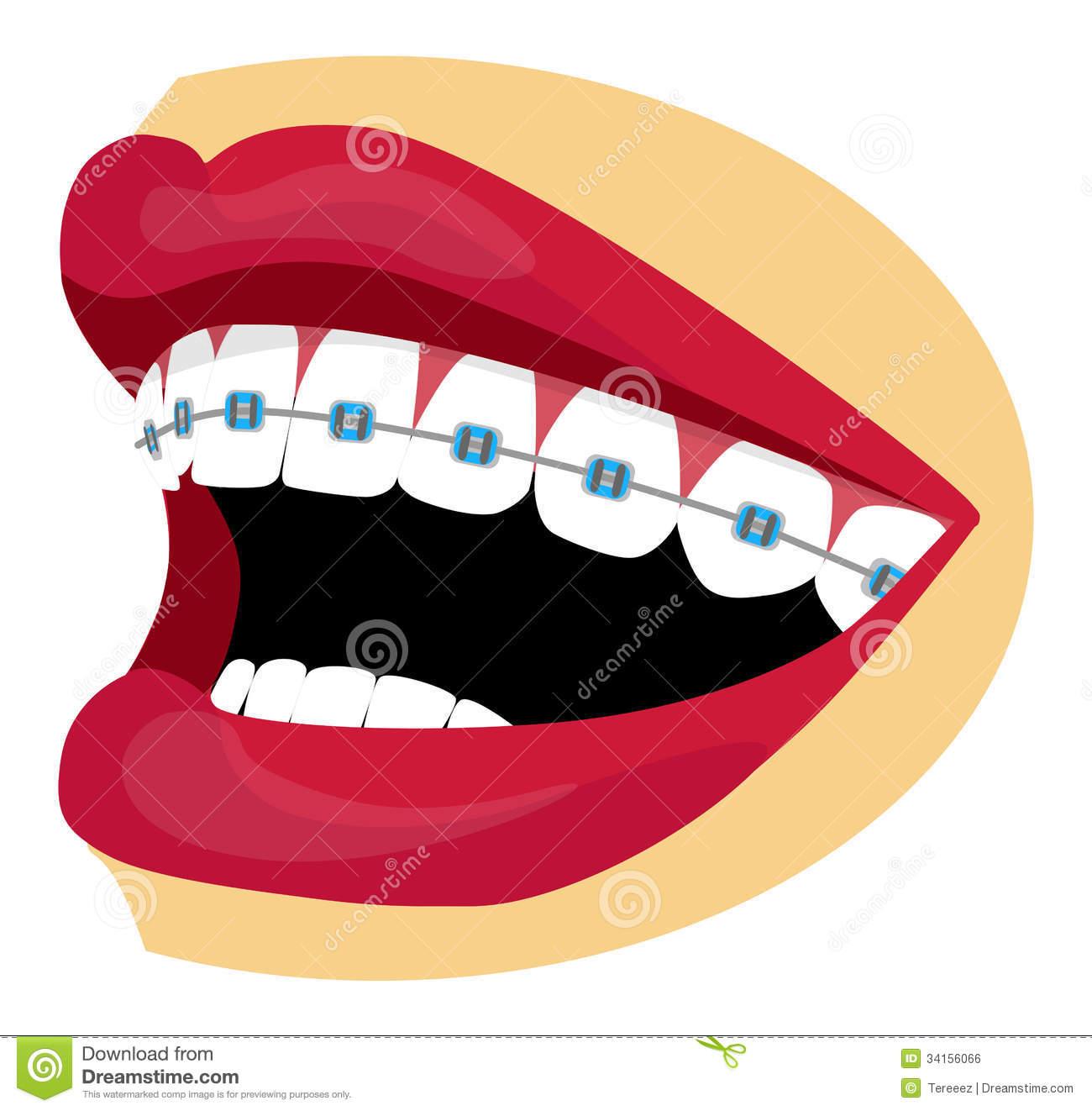 Big Teeth Clipart.