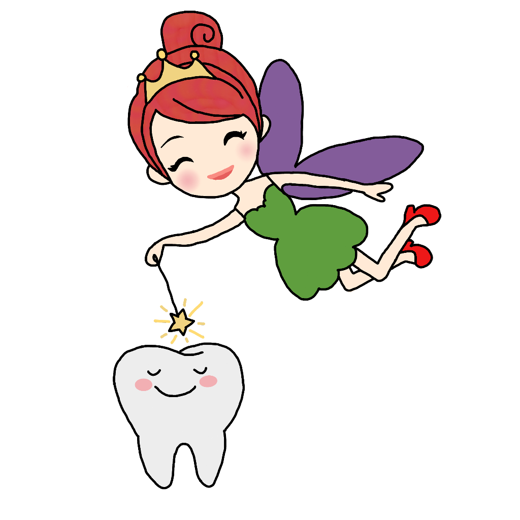 toothfairy wand magic kids cartoon tooth star fairy fly.