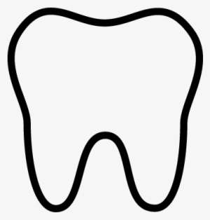 Tooth Outline PNG & Download Transparent Tooth Outline PNG.