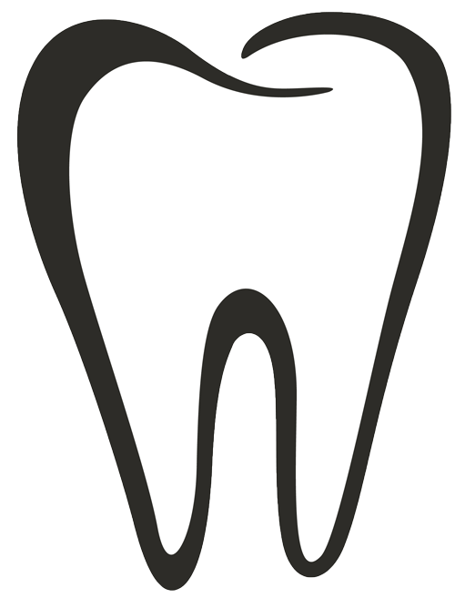 Dental clipart tooth outline, Dental tooth outline.
