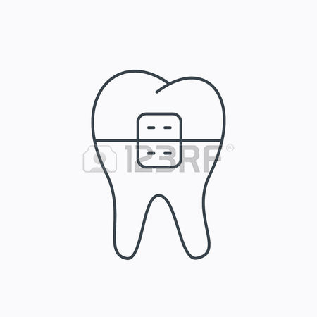 368 Orthodontic Braces Stock Vector Illustration And Royalty Free.