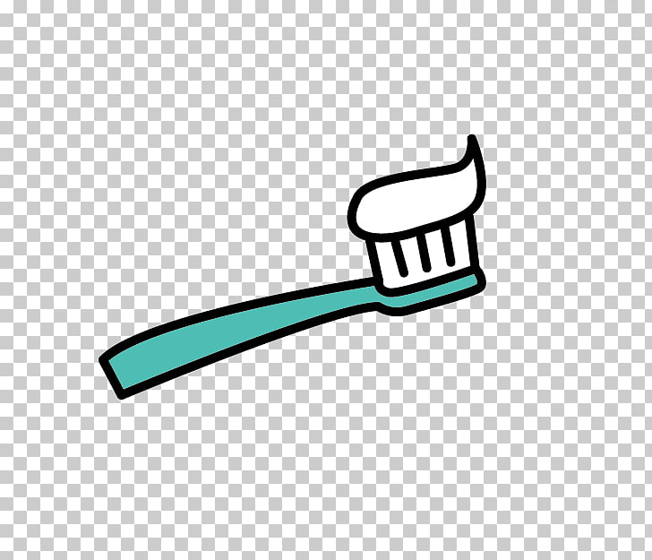 Toothbrush Toothpaste Cartoon Tooth brushing, Cartoon.