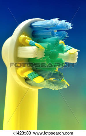 Stock Photo of Electric Toothbrush Head k1423583.