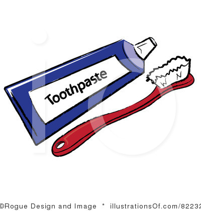 Toothbrush Clip Art Page 1.