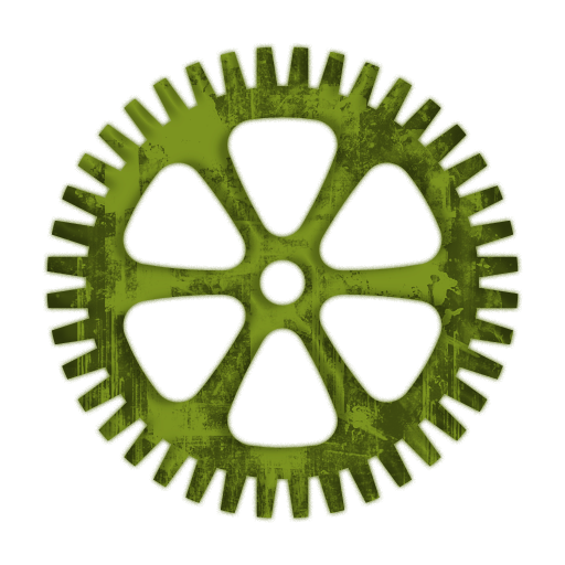 Fine Toothed Spoke And Wheel Gear Icon #082033 » Icons Etc.
