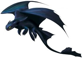 Toothless clipart.
