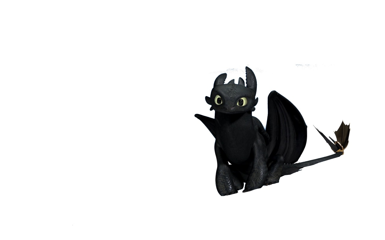 Toothless night fury clipart.
