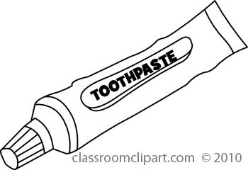 Toothpaste Clipart » Clipart Station.