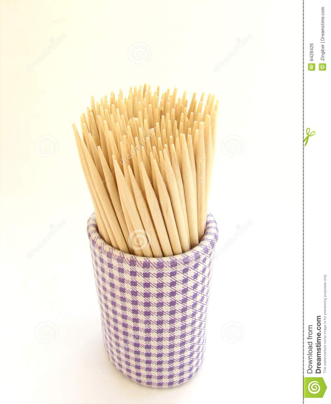 Toothpicks Royalty Free Stock Image.