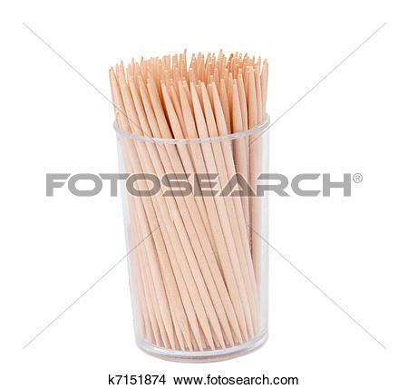 Stock Photo of toothpicks k7151874.