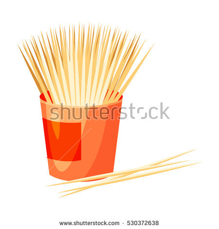 Toothpick Stock Photos, Royalty.