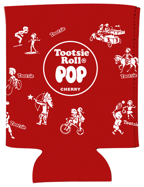 Tootsie Pop Red Wrapper Koozie.