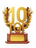Top 10 Illustrations and Clip Art. 253 top 10 royalty free.