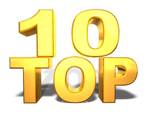 Top ten clipart.