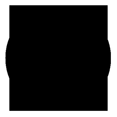 Round black top arrow icon.