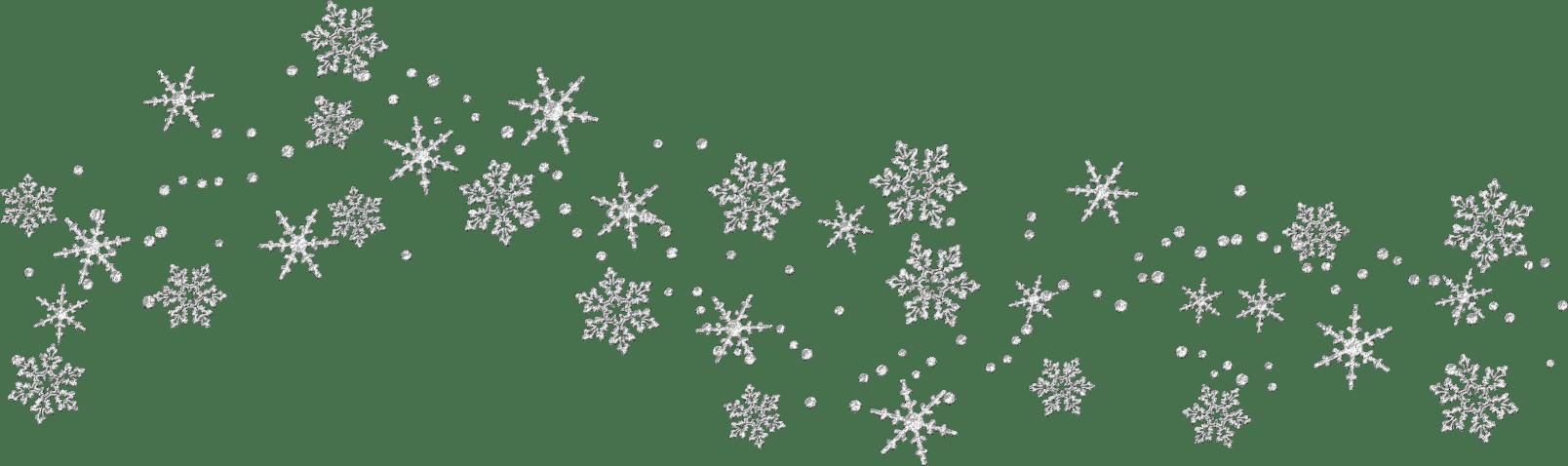 Free Transparent Snowflake Border, Download Free Clip Art.