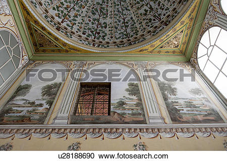Stock Photography of Architectural details of the harem at Topkapi.