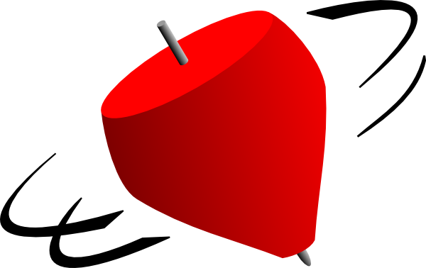 Spinning Top Clipart.
