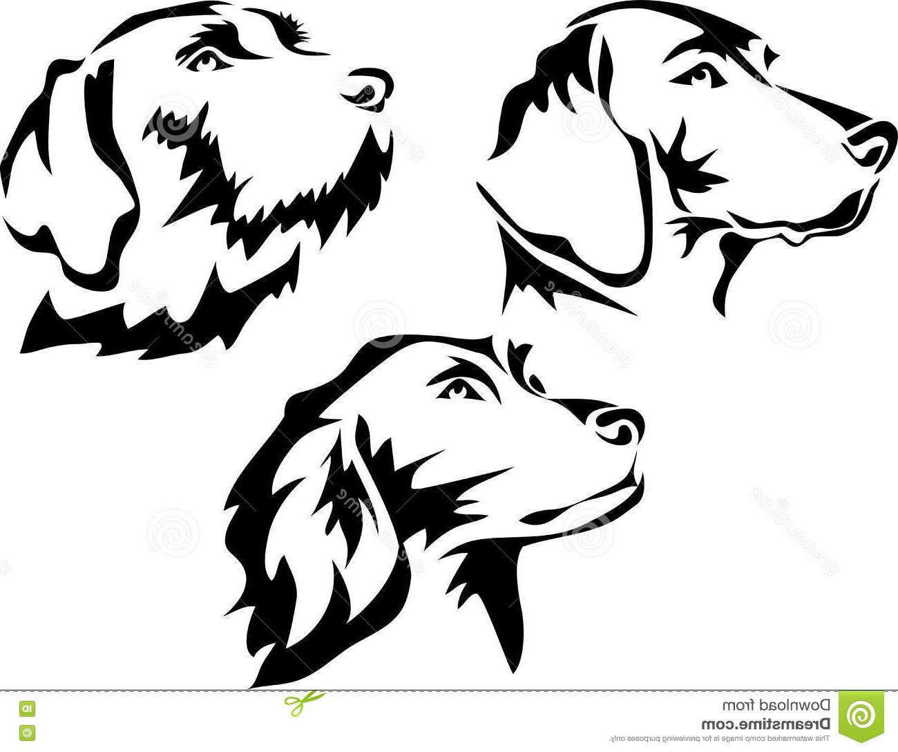 Top Dog Clip Art Black And White Vector Images » Free Vector.