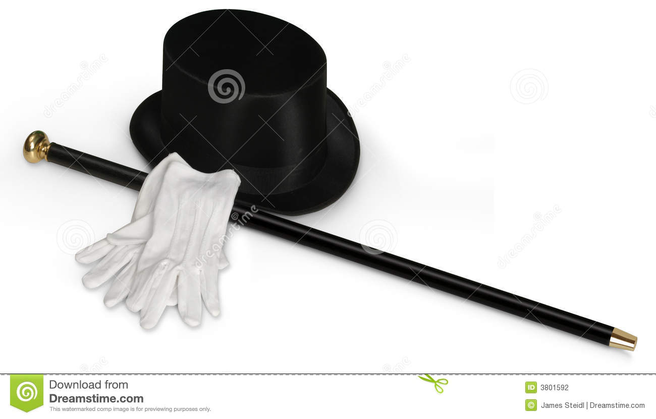 1258 Top Hat free clipart.