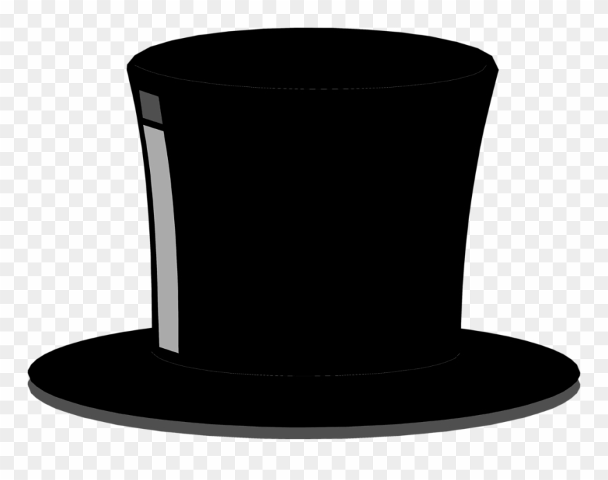Top Hat Free Stock Photo Illustration Of A Black Top.