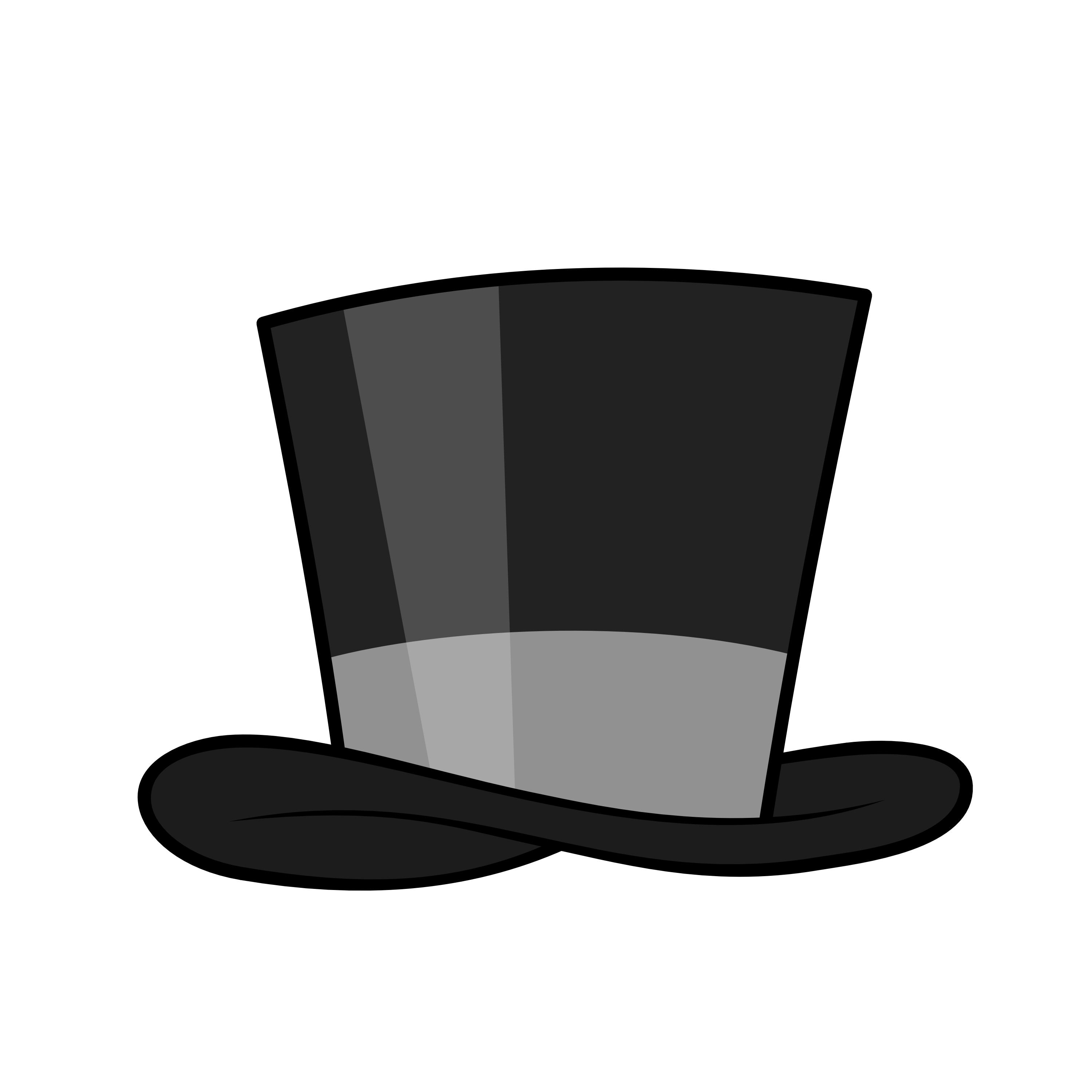 Top Hat No Background Clipart.