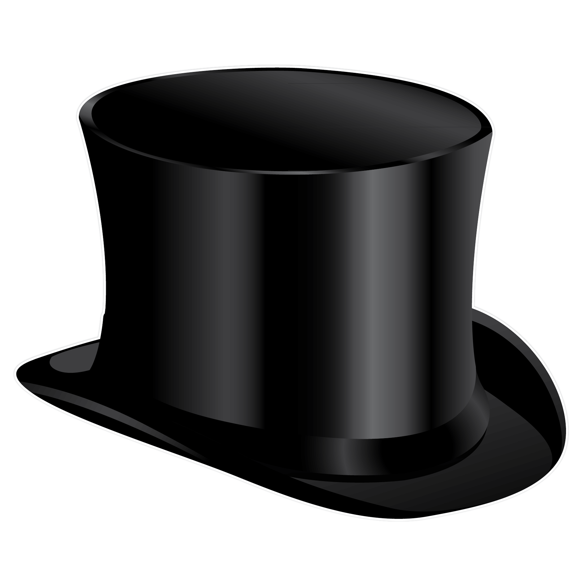 Top Hat Clipart.