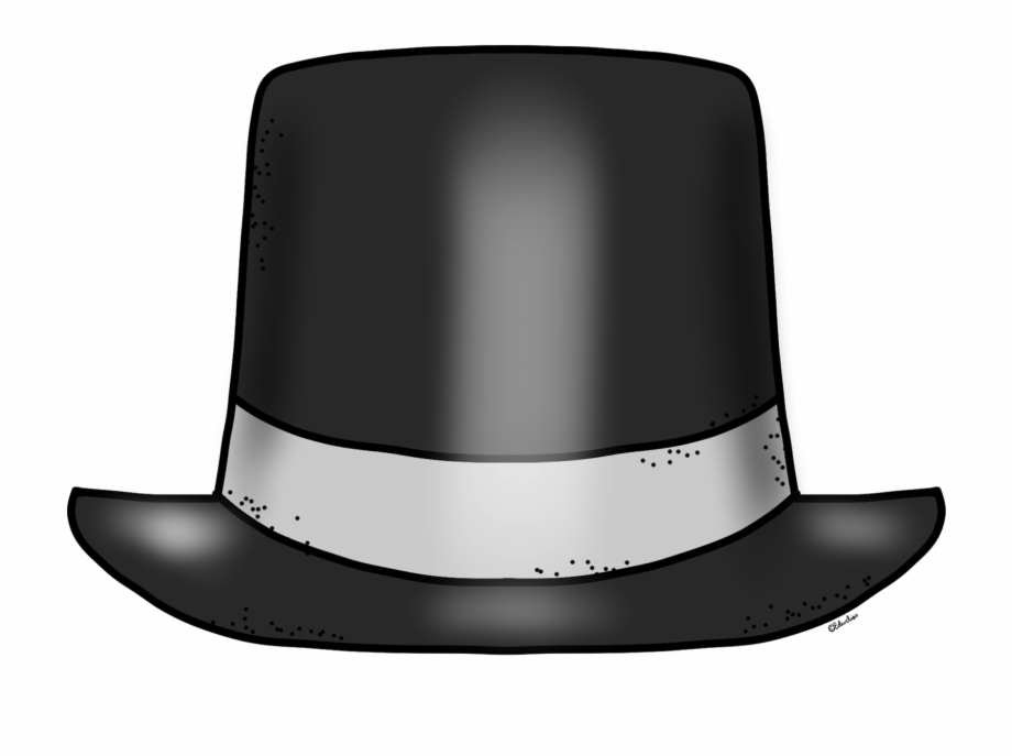 Top Hat Clipart Black And White Free Clipart Images.
