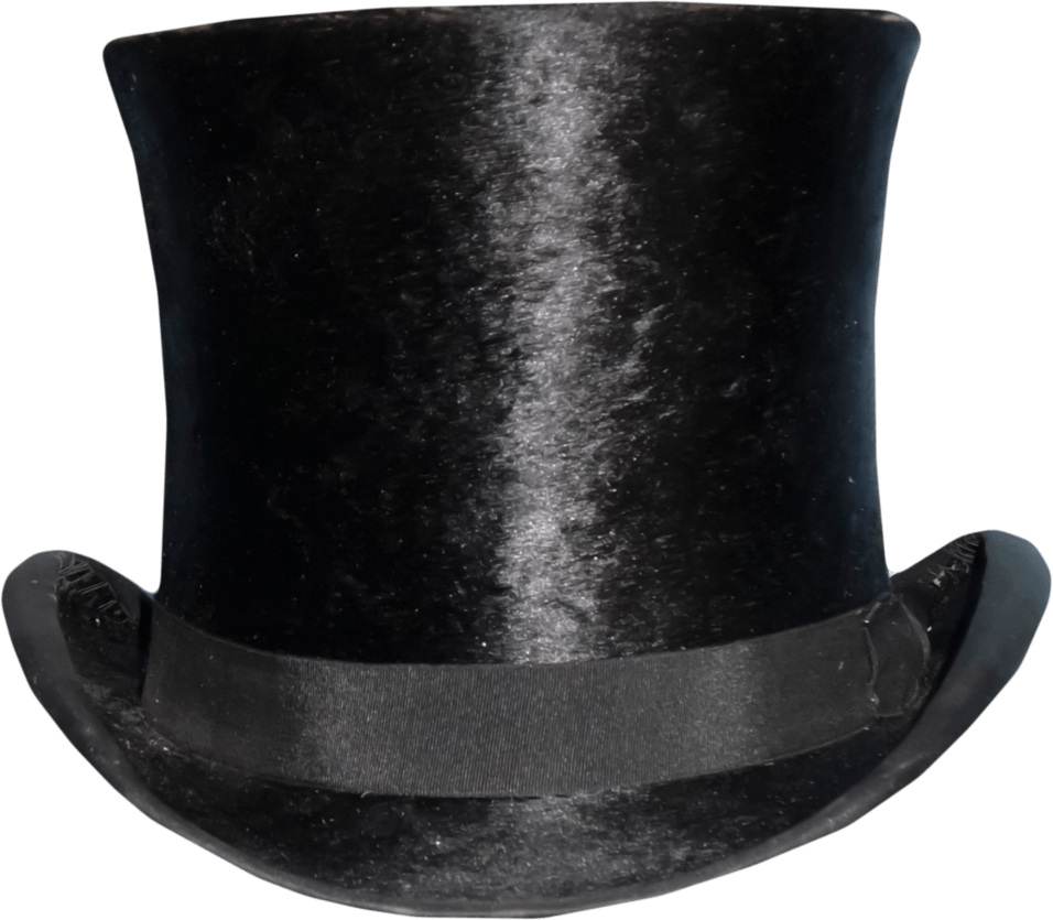 Top Hat transparent PNG.