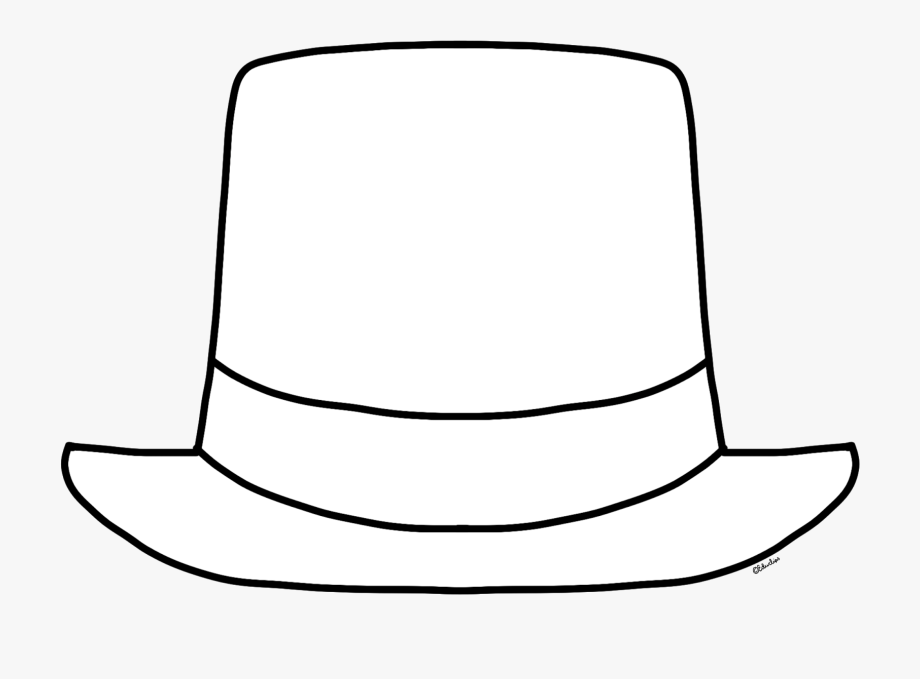 free} Blank New Year Top Hat Clip Art.