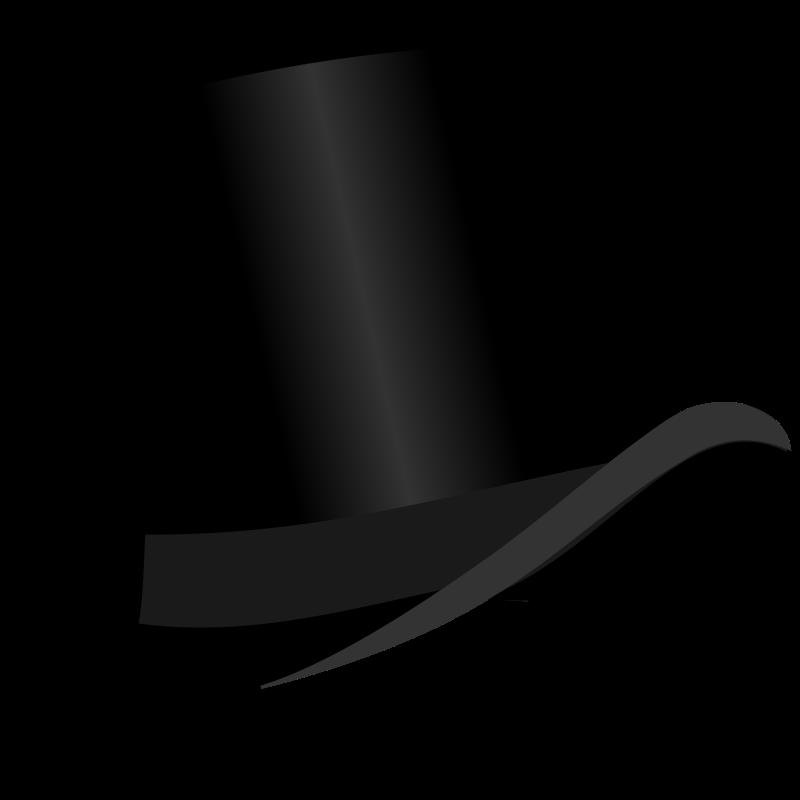 Top Hat PNG Transparent Images.