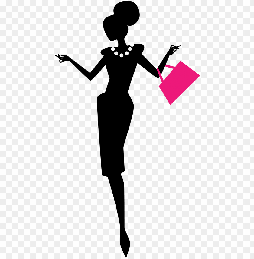 clipart black and white stock fashion runway clipart.
