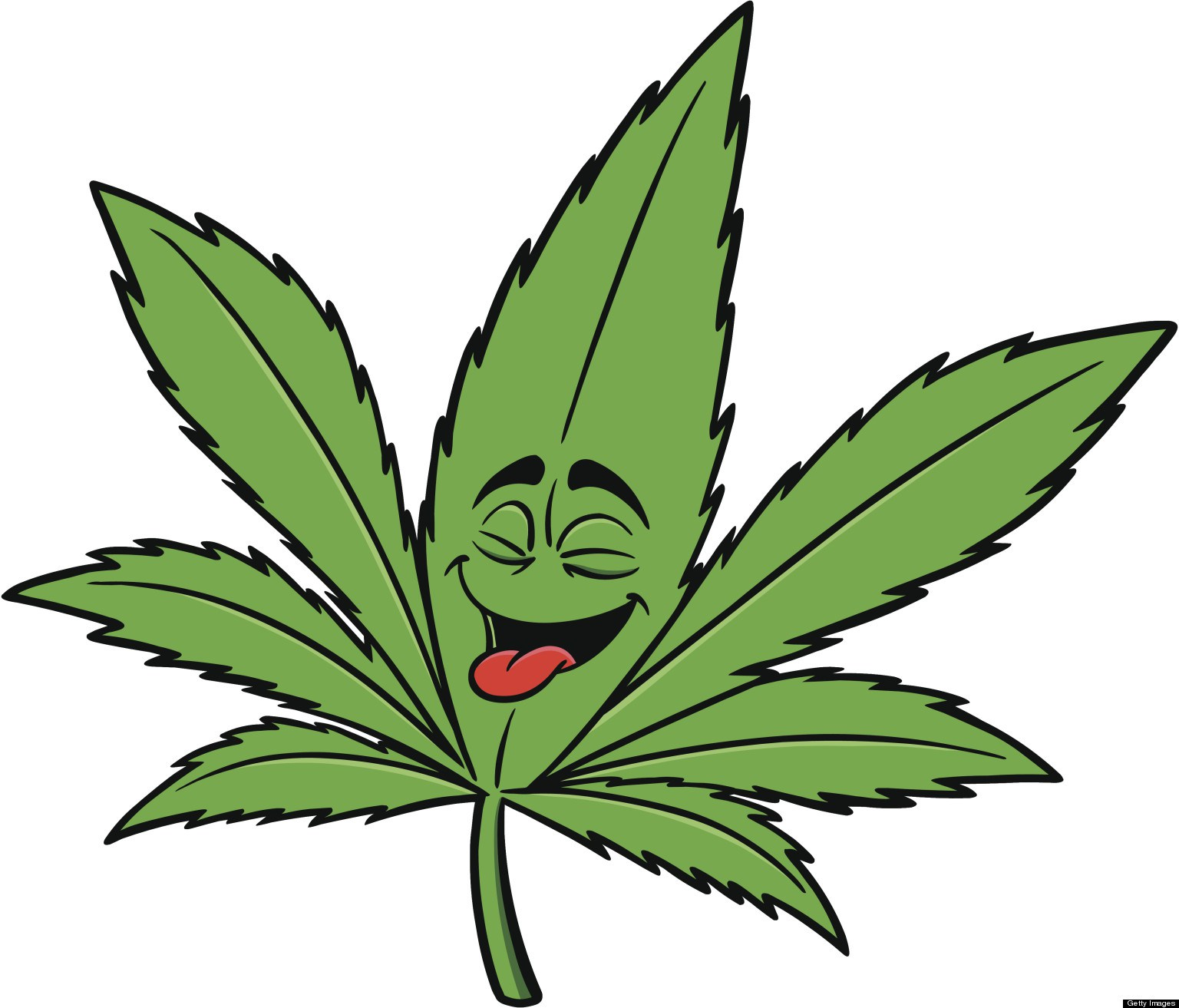 Marijuana leaves clipart.