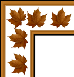 Fall Corner Top Clipart.