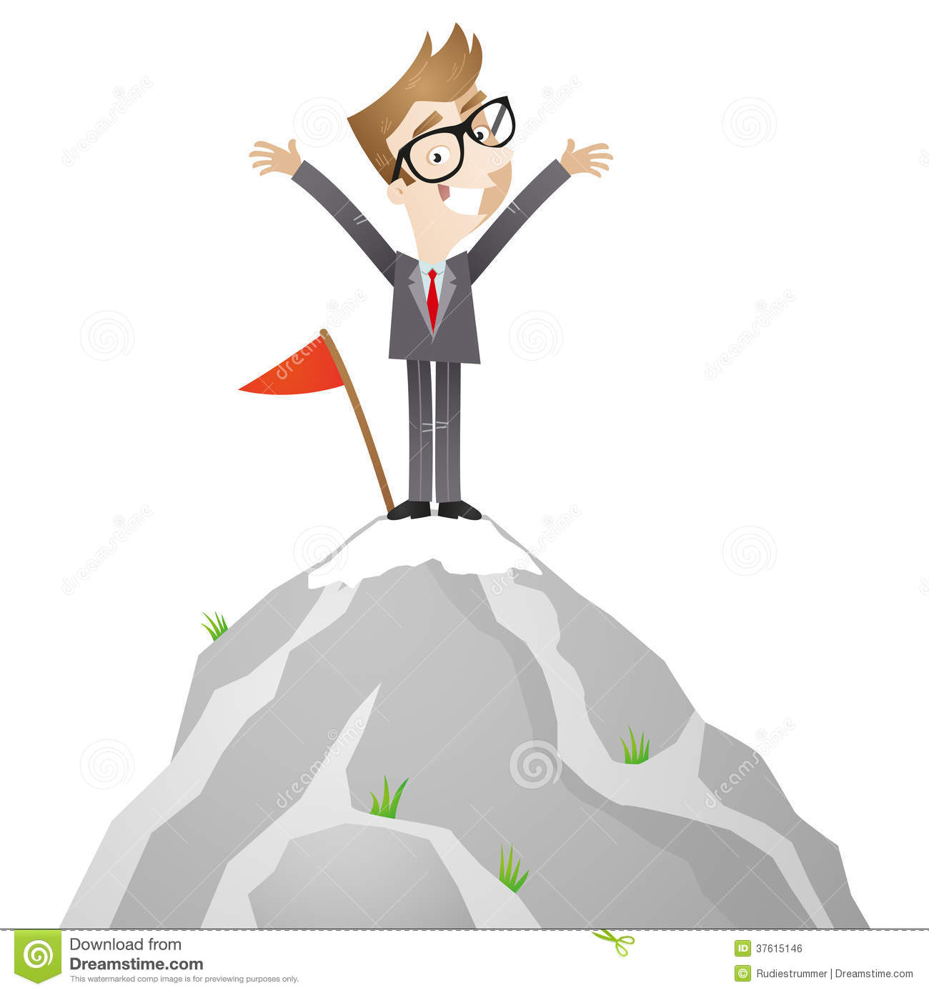 Standing on top clipart - Clipground