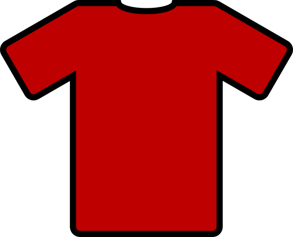 Red Football Top Clip Art at Clker.com.
