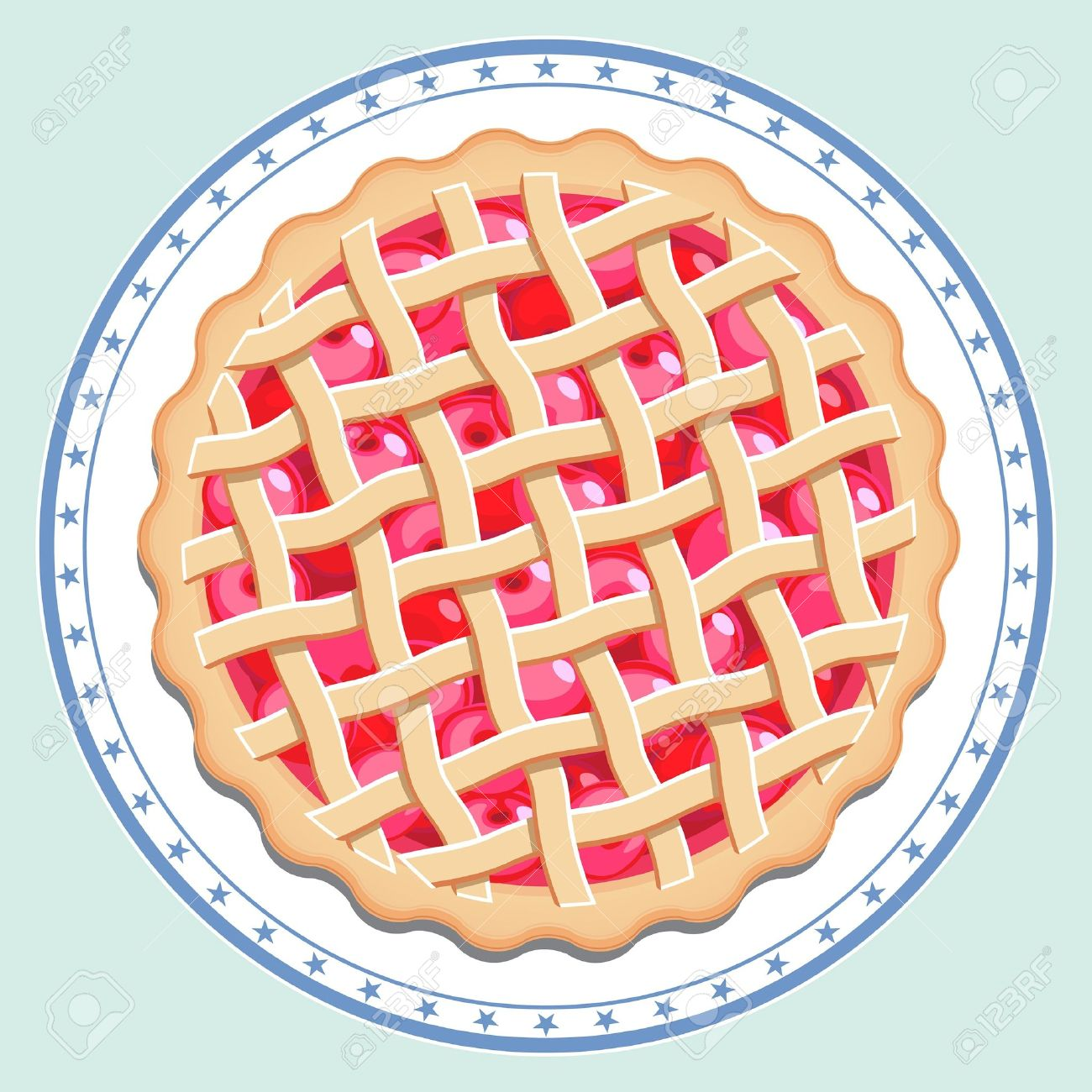 Pie clipart top view 2 » Clipart Station.