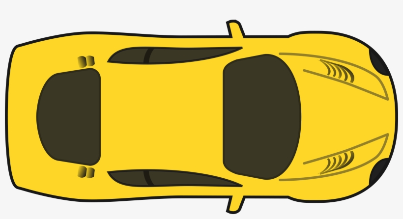 Yellow Racing Car.