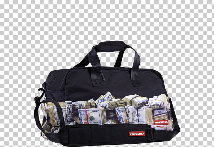 Duffel Bags Money bag Hand luggage, bag PNG clipart.