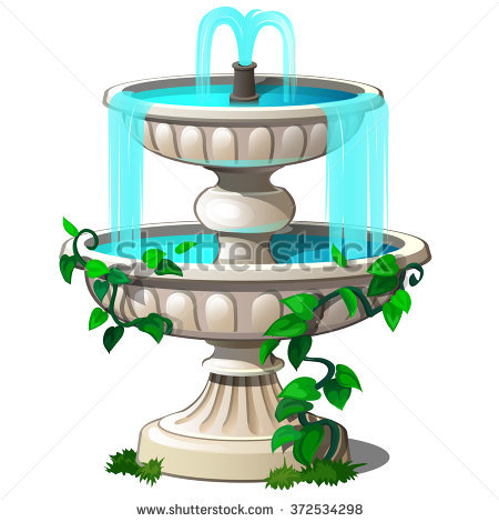 Fountain Stock Photos, Royalty.